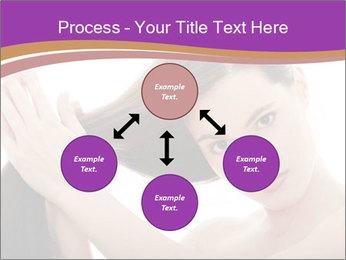 Long Dark Hair PowerPoint Templates - Slide 91