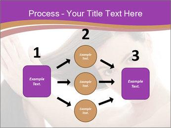 Long Dark Hair PowerPoint Templates - Slide 92
