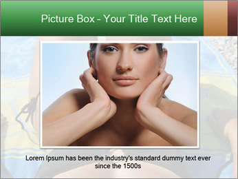 Woman With Bronze Skin PowerPoint Templates - Slide 15