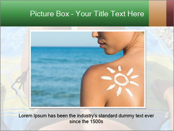 Woman With Bronze Skin PowerPoint Templates - Slide 16