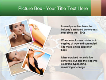 Woman With Bronze Skin PowerPoint Template - Slide 23