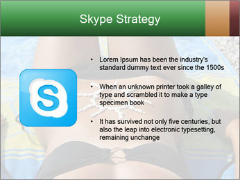 Woman With Bronze Skin PowerPoint Templates - Slide 8