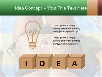 Woman With Bronze Skin PowerPoint Templates - Slide 80