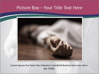 Violence In Family PowerPoint Template - Slide 15