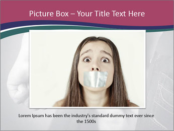 Violence In Family PowerPoint Template - Slide 16