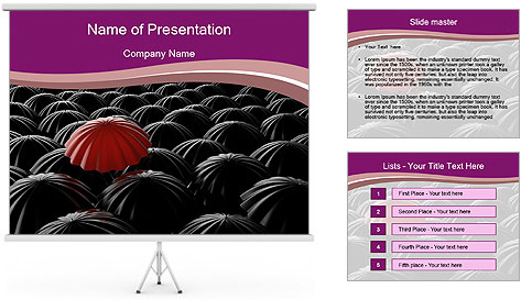 Identity Concept PowerPoint Template