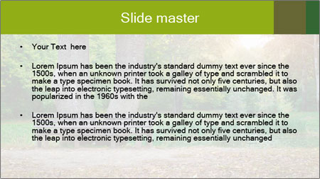 Empty Part PowerPoint Template - Slide 2