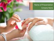 Luxury Manicure Salon PowerPoint Template