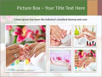 Luxury Manicure Salon PowerPoint Templates - Slide 19