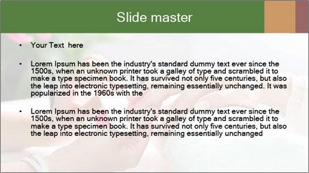 Luxury Manicure Salon PowerPoint Template - Slide 2