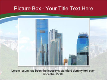 City And Forest PowerPoint Template - Slide 15