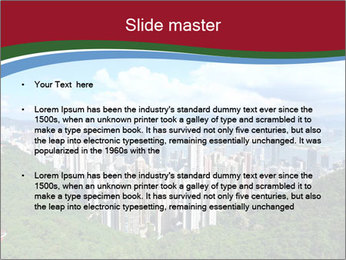 City And Forest PowerPoint Template - Slide 2
