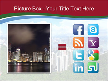 City And Forest PowerPoint Template - Slide 21