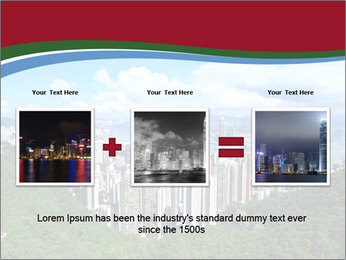 City And Forest PowerPoint Template - Slide 22