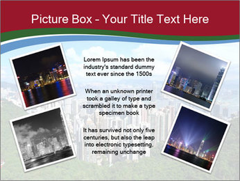 City And Forest PowerPoint Template - Slide 24