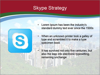 City And Forest PowerPoint Template - Slide 8