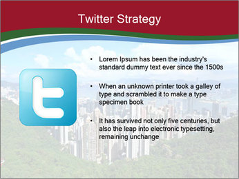 City And Forest PowerPoint Template - Slide 9
