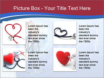Doctor Holding Stethoscope PowerPoint Templates - Slide 14