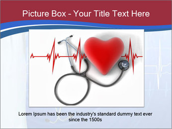 Doctor Holding Stethoscope PowerPoint Templates - Slide 15