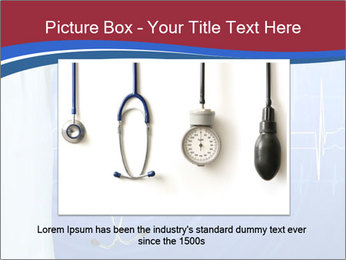 Doctor Holding Stethoscope PowerPoint Templates - Slide 16