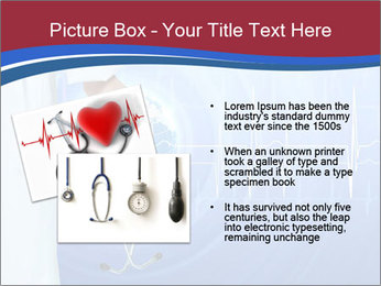 Doctor Holding Stethoscope PowerPoint Templates - Slide 20