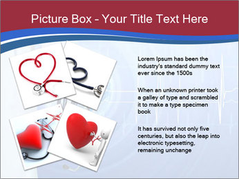 Doctor Holding Stethoscope PowerPoint Templates - Slide 23