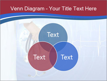 Doctor Holding Stethoscope PowerPoint Templates - Slide 33