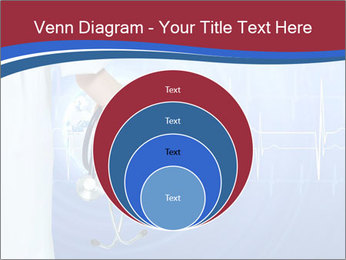 Doctor Holding Stethoscope PowerPoint Templates - Slide 34