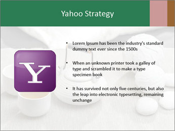 White Ceramic Tea Set PowerPoint Template - Slide 11