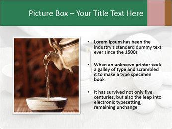 White Ceramic Tea Set PowerPoint Template - Slide 13