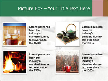 White Ceramic Tea Set PowerPoint Template - Slide 14