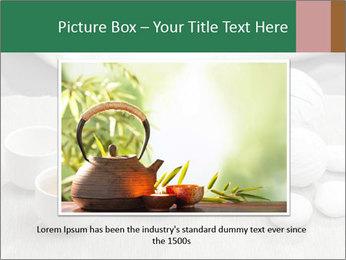 White Ceramic Tea Set PowerPoint Template - Slide 15