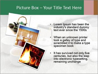 White Ceramic Tea Set PowerPoint Template - Slide 17