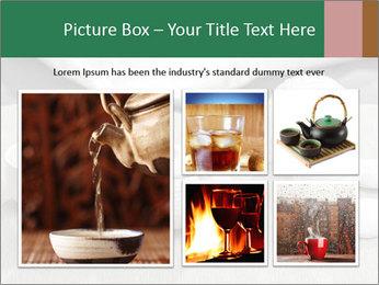 White Ceramic Tea Set PowerPoint Template - Slide 19