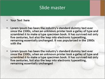 White Ceramic Tea Set PowerPoint Template - Slide 2