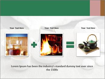 White Ceramic Tea Set PowerPoint Template - Slide 22
