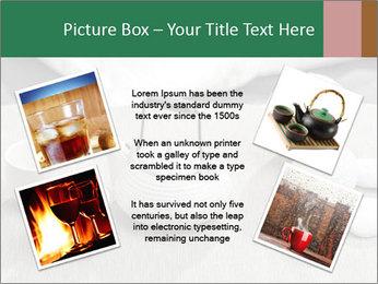 White Ceramic Tea Set PowerPoint Template - Slide 24