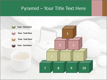 White Ceramic Tea Set PowerPoint Template - Slide 31