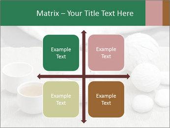 White Ceramic Tea Set PowerPoint Template - Slide 37