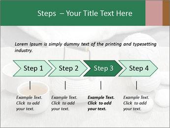 White Ceramic Tea Set PowerPoint Template - Slide 4