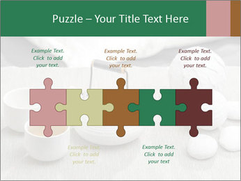 White Ceramic Tea Set PowerPoint Template - Slide 41