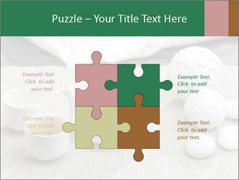 White Ceramic Tea Set PowerPoint Template - Slide 43