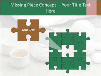 White Ceramic Tea Set PowerPoint Template - Slide 45