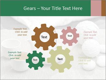 White Ceramic Tea Set PowerPoint Template - Slide 47