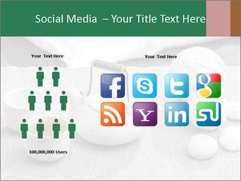 White Ceramic Tea Set PowerPoint Template - Slide 5
