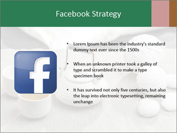 White Ceramic Tea Set PowerPoint Template - Slide 6
