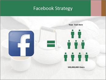White Ceramic Tea Set PowerPoint Template - Slide 7