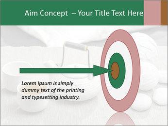 White Ceramic Tea Set PowerPoint Template - Slide 83