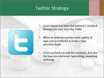 White Ceramic Tea Set PowerPoint Template - Slide 9