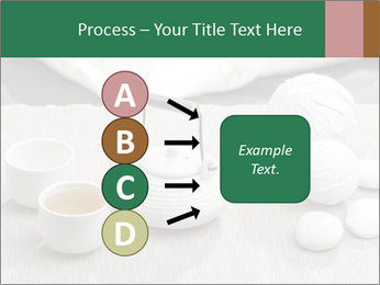 White Ceramic Tea Set PowerPoint Template - Slide 94